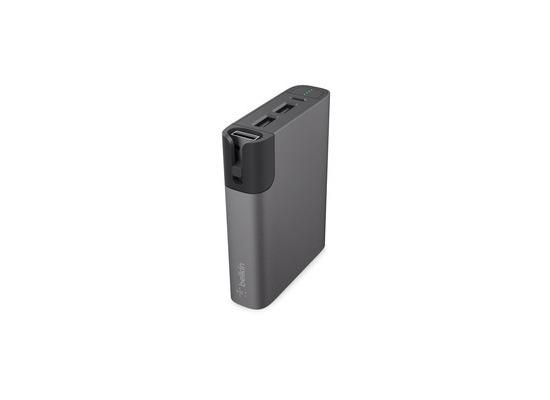 Belkin MIXIT? RockStar Power Pack 6.600mAh, Micro USB/Lightning, grau