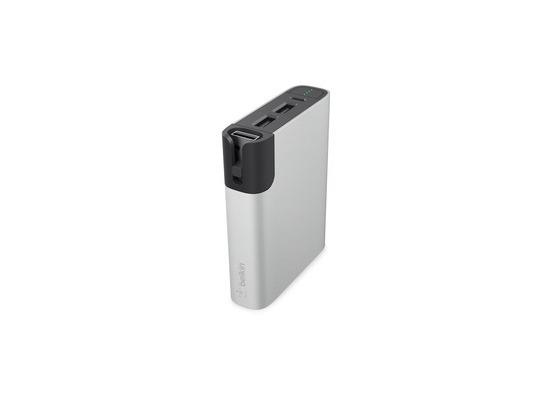 Belkin RockStar Power Pack 6.600mAh, Micro USB/Lightning, silber