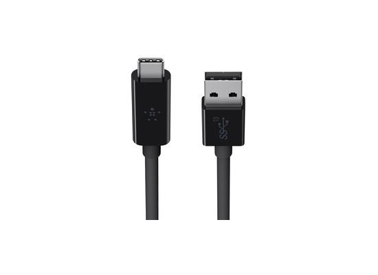 Belkin Superspeed+ USB 3.1 Datenkabel USB-A -> USB-C 1m schwarz F2CU029bt1M-BLK