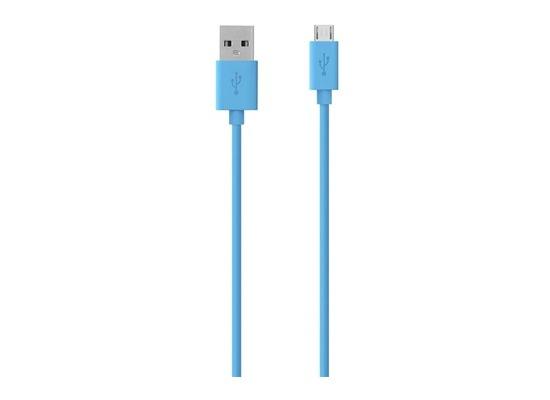Belkin Micro-USB/USB Kabel - 2.00m - blau