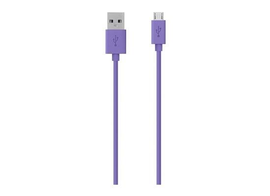 Belkin Micro-USB/USB Kabel - 2.00m - lila