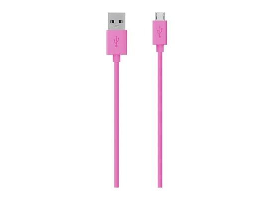 Belkin Micro-USB/USB Kabel - 2.00m - pink