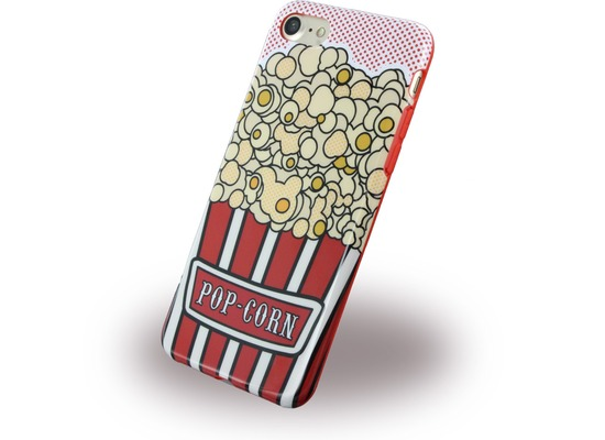 Benjamins Silikon Cover - Apple iPhone 7 / 8 - Pop Corn