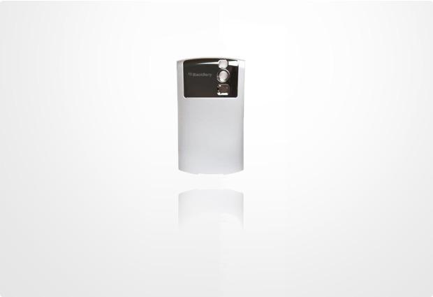 Blackberry Akkufachdeckel für Curve 83xx, silber