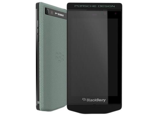 Blackberry P9982 Porsche Design 4G NFC 64GB, aqua green