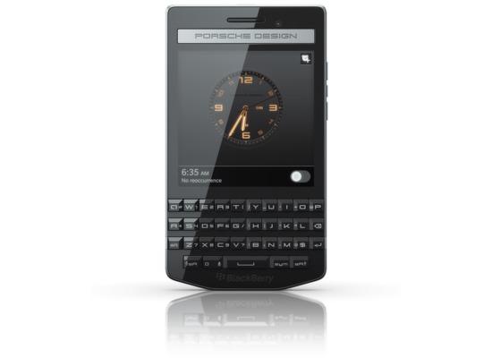 Blackberry Porsche Design P\'9983, schwarz