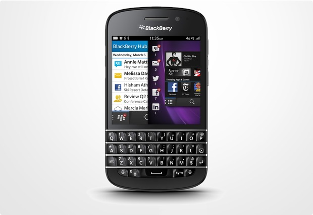 Blackberry Q10, Black