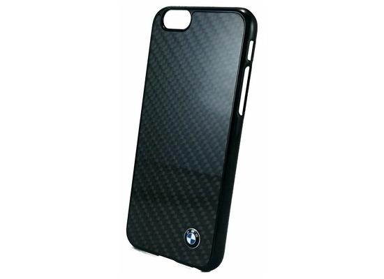 bmw logo carbon cover h lle case apple iphone 6. Black Bedroom Furniture Sets. Home Design Ideas