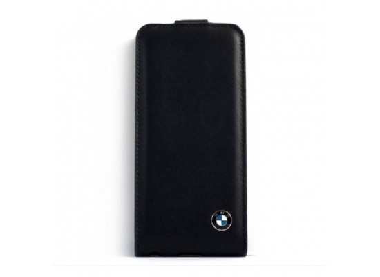 bmw signature flip ledertasche h lle case apple iphone. Black Bedroom Furniture Sets. Home Design Ideas