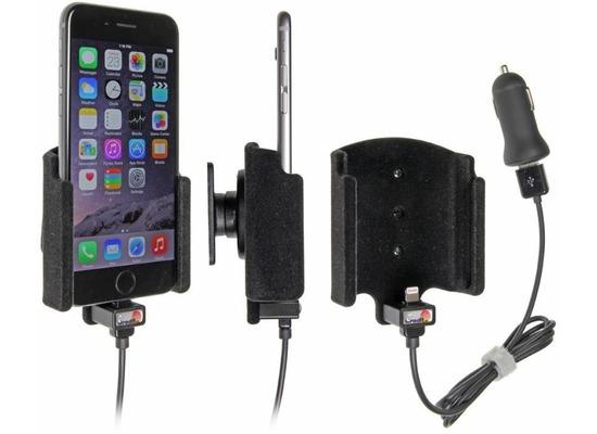 Brodit Aktivhalter für Apple iPhone 6 / iPhone 7 mit USB-Kabel