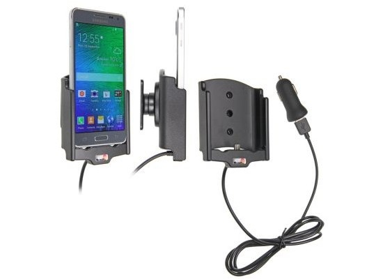 Brodit Samsung Galaxy Alpha KFZ-/Autohalterung mit USB-Ladefunktion