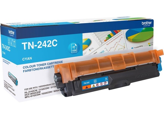Brother Lasertoner TN-242C cyan 2.200 Seiten