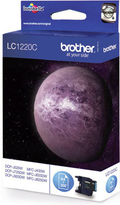 Brother Tintenpatrone LC-1220C Cyan (ca. 300 Seiten)