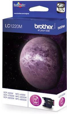 Brother Tintenpatrone LC-1220M Magenta (ca. 300 Seiten)