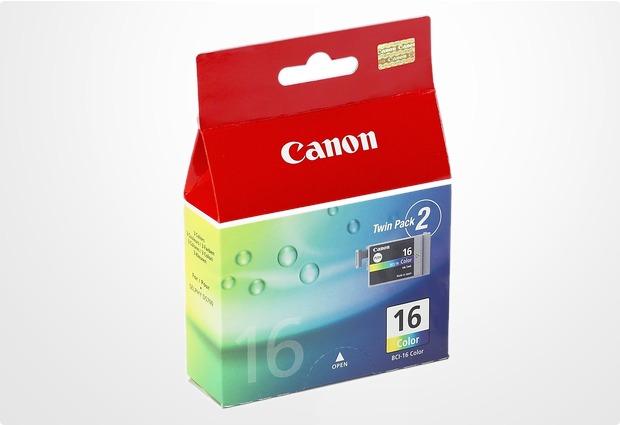 Canon Dreifarbtintentank BCI-16 (2 Packs) für Canon DS700/ iP90