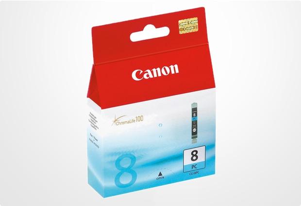 Canon Tintentank CLI-8PC, photo-cyan