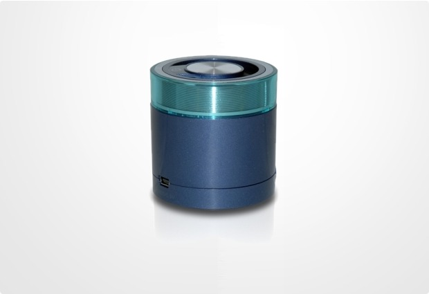 Conceptronic Travel Bluetooth 3.0 Stereo Speaker, blau