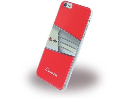 Corvette C1 Classic - Leder Hard Cover für Apple iPhone 6 Plus/6S Plus, rot