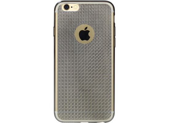 DIAMOND Cover Smooth Glossy Crystal for iPhone 7 / 8 silvermetallic colored