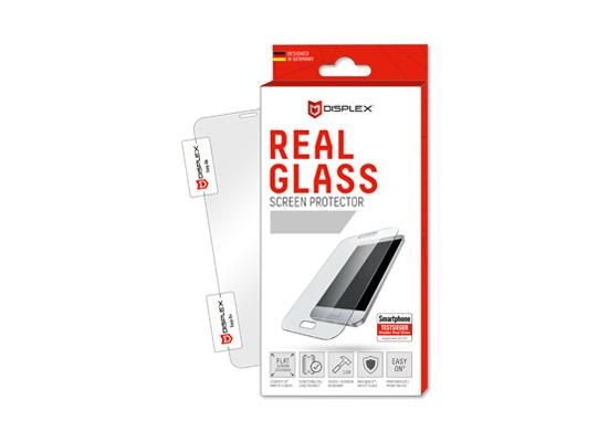 Displex Displex, Real Glass 0,33mm + Rahmen, Apple iPhone 11 Pro / XS / X Displayschutzglasfolie