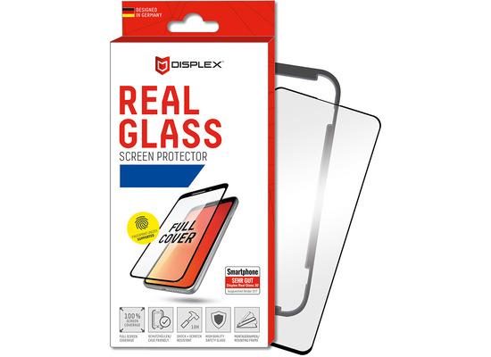 Displex Displex, Real Glass 3D 0,33mm+Hülle, Samsung Galaxy S10+, Displayschutzglasfolie, Fingerabdruck Sensor Untersützung