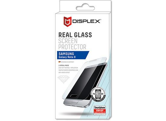 Displex Real Glass Samsung Galaxy Note 8 schwarz