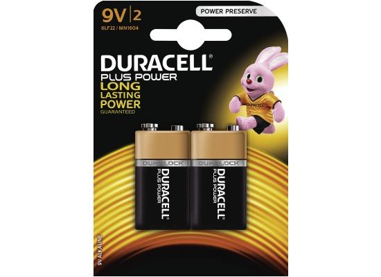 Duracell MN 1604 Plus Power 9 Volt 2er Blister,