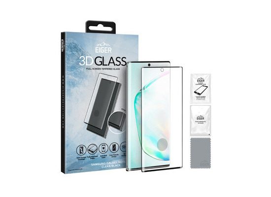 Eiger 3D SP Glass Samsung Galaxy Note10+ clear/black