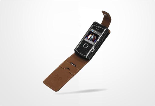 Eixo Ledertasche BiColor Flip Nokia N72