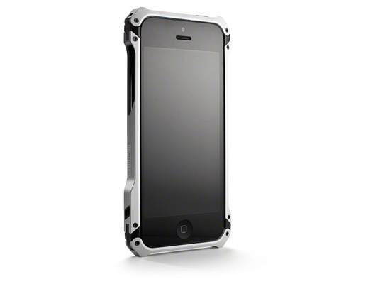 ELEMENTCASE Sector 5 Carbon Fiber Edition für iPhone 5, silber