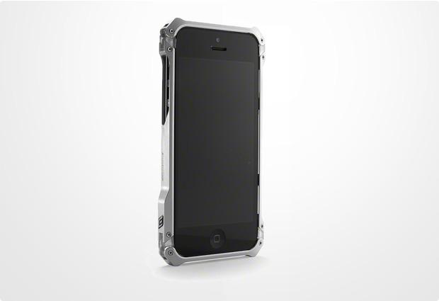 ELEMENTCASE Sector 5 für iPhone 5, silber