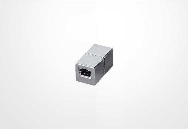 Equip RJ45 fem/fem Verbinder geschirmt