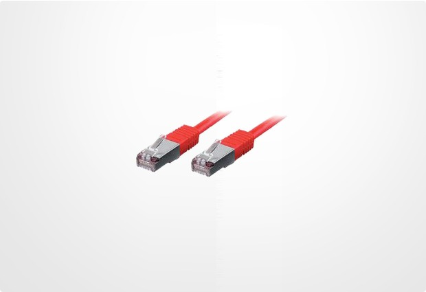 Equip Patchkabel 0,5m rot-2xRJ45 S/STP-C6 250MHz