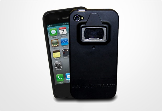 thumbs up flaschen ffner h lle f r iphone 4 4s bei telefon. Black Bedroom Furniture Sets. Home Design Ideas