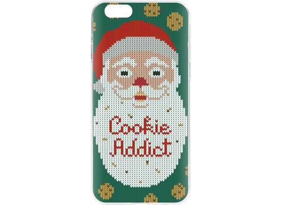 Flavr Cardcase Ugly Xmas Sweater Cookie Addict for iPhone 6/6s mehrfarbig