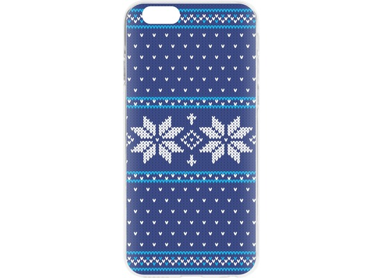 Flavr Cardcase Ugly Xmas Sweater for iPhone 6/6s blau