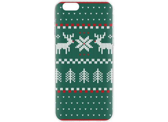 Flavr Cardcase Ugly Xmas Sweater for iPhone 6/6s grün