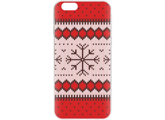 Flavr Cardcase Ugly Xmas Sweater for iPhone 6/6s rot