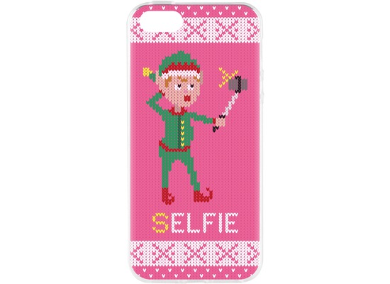 Flavr Cardcase Ugly Xmas Sweater Selfie Elfie for iPhone 5/5S/SE colourful