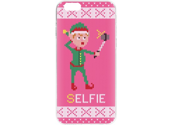 Flavr Cardcase Ugly Xmas Sweater Selfie Elfie for iPhone 6/6s mehrfarbig