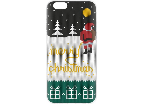 Flavr Cardcase Ugly Xmas Sweater Yellow Snow for iPhone 6/6s mehrfarbig