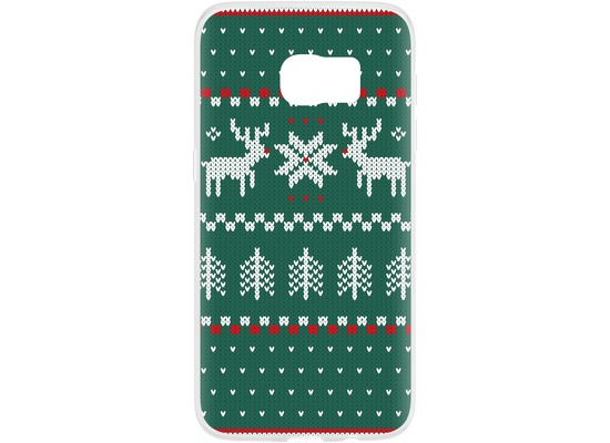 Flavr Case Ugly Xmas Sweater for Galaxy S7 grün