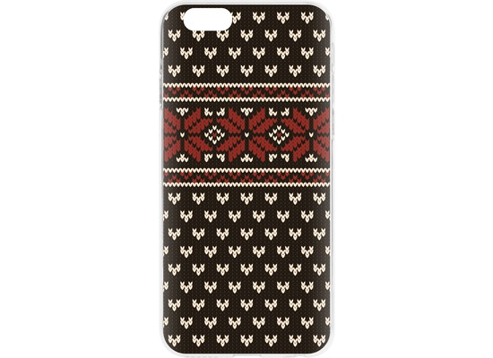 Flavr Case Ugly Xmas Sweater for iPhone 6/6s schwarz