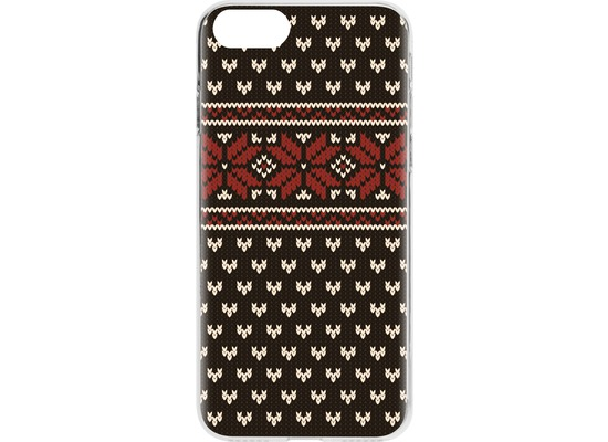 Flavr Case Ugly Xmas Sweater for iPhone 7 schwarz