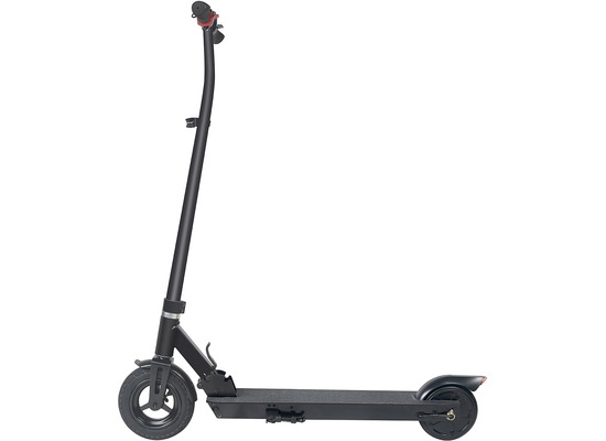 "Fontastic E-Scooter EM2GO - FW103 Klappbar, schwarz LCD-Display, 8\"" Luftbereifung vorne, LED-Licht"