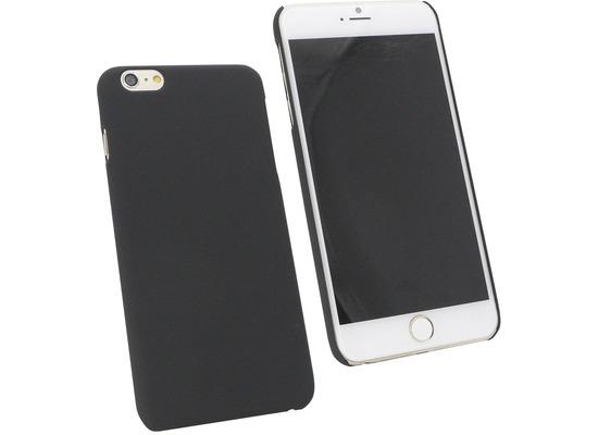 Fontastic Hardcover Pure schwarz für Apple iPhone 6+/6s+