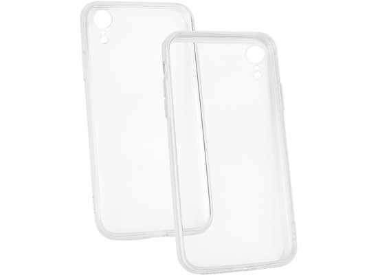 Fontastic Hybridcover TPU/ PC transparent komp. mit Apple iPhone XR