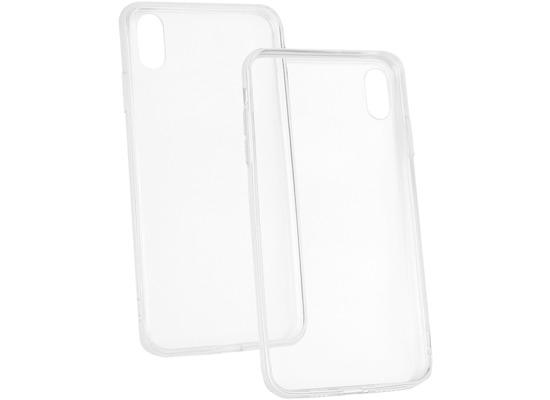 Fontastic Hybridcover TPU/ PC transparent komp. mit Apple iPhone XS Max