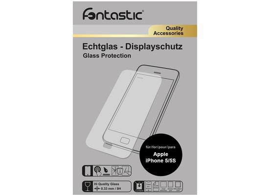 Fontastic Schutzglas für Apple iPhone 5/5S/SE
