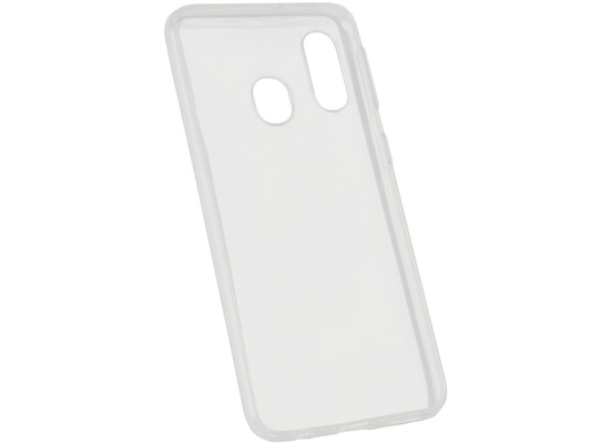 Fontastic Softcover Clear Thin komp. mit Samsung Galaxy A40